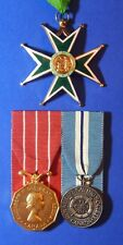BRITISH MEDAL GROUP LT COL RCAFR CANADIAN DECORATION ORDER OF ST LAZARUS  AB0018