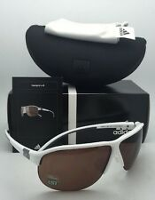 New ADIDAS Sunglasses TOURPRO L A178 00 6054 71-07 White & Grey Frame w/LST Lens