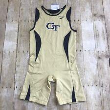 Georgia Tech Wrestling Singlet Speedsuit - Brooks x Russell Athletics Small NWT
