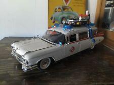 1:18 Cadillac Ecto 1 Ambulance Ambulancia Ghost Busters Hotwheels Cazafantasmas