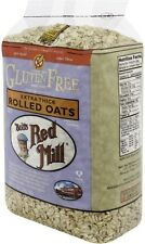 Bob's Red Mill Gluten Free Extra Thick Rolled Oats 32 oz (Pack of 2)
