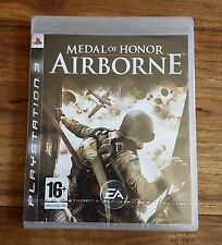 MEDAL OF HONOR AIRBORNE Jeu Sur Sony PS3 Playstation 3 Neuf Sous Blister VF Rare