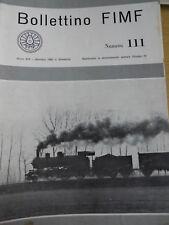 Bollettino FIMF treni 1980 111 La Circumvesuviana