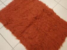 Flokati 1000 Grammes Poils longs Rouille Rouge Tapis 100% Laine 90x60 cm PRODUIT
