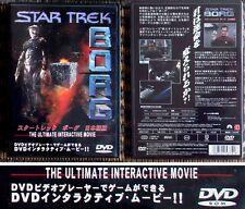 Japan interactive DVD video Star Trek Borg John de Lancie as Q collectible RARE!