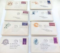 JOB LOT 54 USA 1930s FIRST DAY COVERS. BASEBALL, PANAMA CANAL ETC