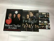 3x Twilight Themed Books Director's Notebook Movie Companion Stars of Twilight