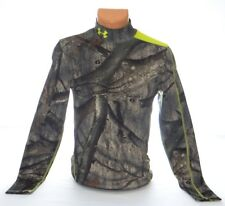 Under Armour Coldgear Infrared Scent Control Mossy Oak Compression Shirt Men's
