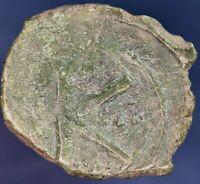 """Byzantine bronze coin, """"K"""" type, 19 mm *[12548]"""