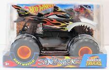2018 1:24 Scale Hot Wheels Monster Jam Shark Wreak Rare BigFoot Truck! New