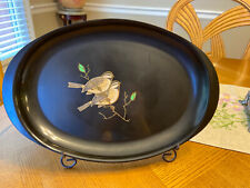 Couroc Monterey Fgc Pair Birds LargeTray Made In Usa 16� X 11.5�