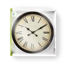 XXL 50cm Wanduhr Küchenuhr Design Küche Quarzuhr Uhr römische Ziffern römisch XL