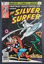 Fantasy Masterpieces # 4 Reprint of Silver Surfer # 4 Marvel 1980