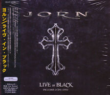 JORN ( Lande ) Live In Black 2010 JAPAN 2 CD + DVD DIO Masterplan Sweden Metal