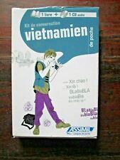 Kit de conversation vietnamien - 1 livre + 1CD audio - Assimil