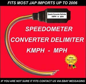 Speedo Converter Delimiter fits Toyota  ALPHARD  CELICA SUPRA  MR2 GT GT4 ESTIMA