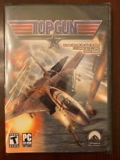 Top Gun PC CD First Person Jet Shooter F-22 or B-2 Stealth Bomber from Movie