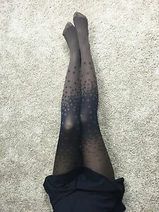 New Arrival LavoLave High Quality Sexy Snowflake Pattern Spandex Stocking Tights