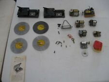 Large Lot of Vintage Thorens Music Box Movements, Discs, Turntables - For Parts