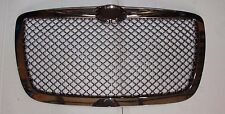 2005-2010 Chrysler 300 300C Front Grill Hood Grille Chrome Smoke Bentley Style