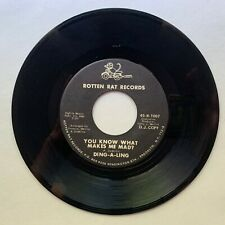 DING-A-LING - You Know What Makes Me Mad?/Hi Kids - 45 RPM - PROMO