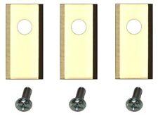 30 Titan Ersatz Messer Klingen f. Worx Landroid 1Loch longlife 1mm | DIN EN50636