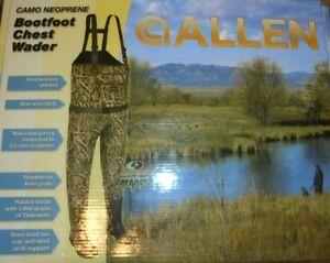 Allen Camo Neoprene Boot foot Chest Wader Mossy Oak Shadow Grass Blades