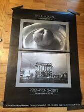 Vintage 1979 German Photographers RAOUL HAUSMAN & Verena Von Gagern POSTER