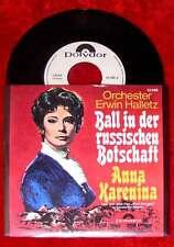 Single Erwin Halletz: Ball in der russischen Botschaft / Anna Karenina (Polydor)