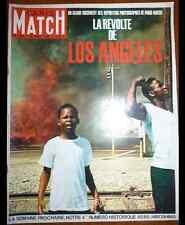 PARIS MATCH Los Angeles Manry Deneuve Bailey Vadim