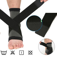 Arch Support Compression Foot Plantar Fasciitis Sock Ankle Heel Brace Wrap USA