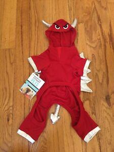 Martha Stewart Pets Devil Dog Halloween Costume NEW!-100% to No Kill Pet Shelter