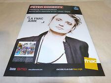 PETER DOHERTY - Mini poster couleurs   !!!!!!!!!!!