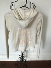Juicy Couture Jacket Sz M Off White Color In Exc Cond