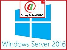 Windows Server 2016 R2 Remote Desktop Services RDS 10 USER CAL KEY LICENSE