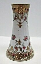 1930's Vintage Nippon Hand Painted & Beaded Hat Pin Holder - 12 Holes