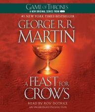 A Feast for Crows Bk. 4 by George R. R. Martin (2012, CD, Unabridged) NEW!