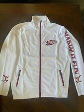 Varsity National Spirit Cheer Champion Athletic Jacket Size Small White New