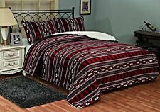 Fancy Linen 3pc King Size South West Winter Blanket Sumptuously Soft Plush New