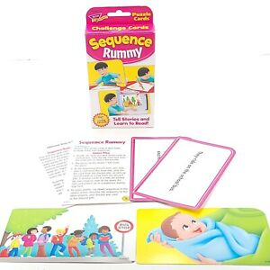 Sequence Game Storytelling & Sequencing Pics Story Reading Cards Preschool Vinta