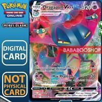 Dragapult V VMax 093/192 Rebel Clash for Pokemon Card Online TCG Digital