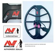 Minelab Equinox 12x15 DD Waterproof Coil for Equinox 600 and 800 Metal Detectors