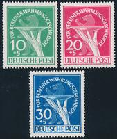 BERLIN, MiNr. 68-70, tadellos postfrisch, gepr. Schlegel, Mi. 350,-