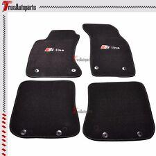 Promotion!!! Fit 96-01 Audi A4 Sedan Wagon Black Nylon Floor Car Mats Carpets