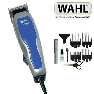 Wahl Corded Mens HomePro Basic Hair Clipper Trimmer Grooming Set 9155-217