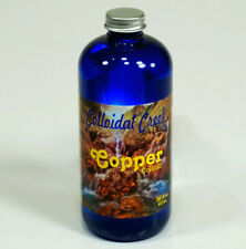 COLLOIDAL Creek 100ppm Nano COPPER supplement concentrate -16 oz internal or ext
