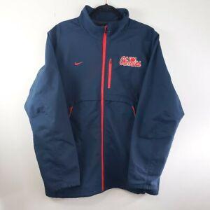 Mississippi Old Miss Rebels Large OuterStuff NCAA Mens First String Full Zip Jacket
