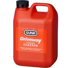 Gunk Driveway Cleaner Oil Stain Remover Garage Floor Paths Patio Cleanse 2 Litre