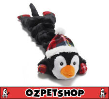Christmas Merry Stretchmas Dog Toy - Penguin