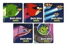 15 Angry Bird Space Stickers Kid Reward Party Goody Loot Bag Filler Favor Supply